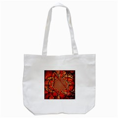 Dreamcatcher Stained Glass Tote Bag (white)