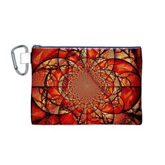 Dreamcatcher Stained Glass Canvas Cosmetic Bag (M)