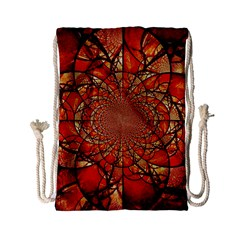 Dreamcatcher Stained Glass Drawstring Bag (Small)