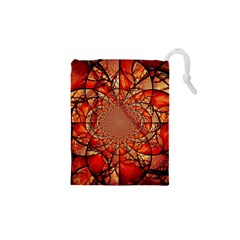 Dreamcatcher Stained Glass Drawstring Pouches (XS)