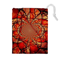 Dreamcatcher Stained Glass Drawstring Pouches (extra Large)