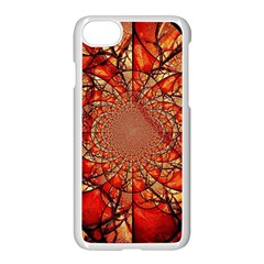 Dreamcatcher Stained Glass Apple Iphone 7 Seamless Case (white)