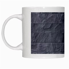 Excellent Seamless Slate Stone Floor Texture White Mugs