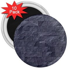 Excellent Seamless Slate Stone Floor Texture 3  Magnets (10 Pack)