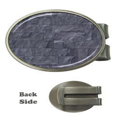 Excellent Seamless Slate Stone Floor Texture Money Clips (oval)