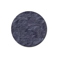 Excellent Seamless Slate Stone Floor Texture Rubber Coaster (round)