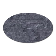 Excellent Seamless Slate Stone Floor Texture Oval Magnet