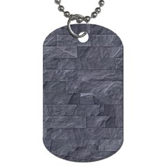 Excellent Seamless Slate Stone Floor Texture Dog Tag (Two Sides)