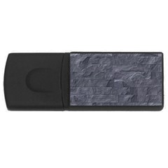 Excellent Seamless Slate Stone Floor Texture USB Flash Drive Rectangular (2 GB)