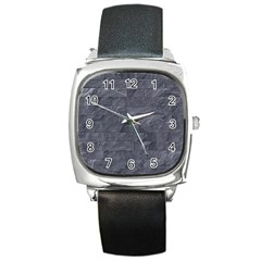 Excellent Seamless Slate Stone Floor Texture Square Metal Watch