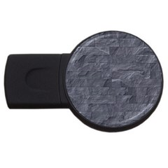 Excellent Seamless Slate Stone Floor Texture Usb Flash Drive Round (4 Gb)