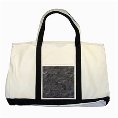 Excellent Seamless Slate Stone Floor Texture Two Tone Tote Bag