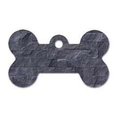 Excellent Seamless Slate Stone Floor Texture Dog Tag Bone (One Side)