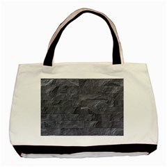 Excellent Seamless Slate Stone Floor Texture Basic Tote Bag (Two Sides)