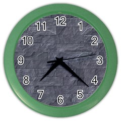 Excellent Seamless Slate Stone Floor Texture Color Wall Clocks