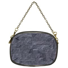 Excellent Seamless Slate Stone Floor Texture Chain Purses (one Side)