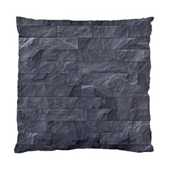 Excellent Seamless Slate Stone Floor Texture Standard Cushion Case (two Sides)