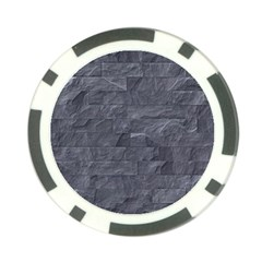 Excellent Seamless Slate Stone Floor Texture Poker Chip Card Guard (10 Pack)
