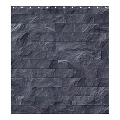 Excellent Seamless Slate Stone Floor Texture Shower Curtain 66  x 72  (Large)