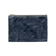 Excellent Seamless Slate Stone Floor Texture Cosmetic Bag (medium)