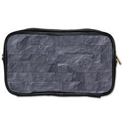 Excellent Seamless Slate Stone Floor Texture Toiletries Bags 2 Side
