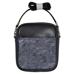 Excellent Seamless Slate Stone Floor Texture Girls Sling Bags