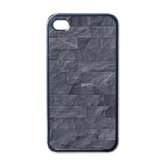 Excellent Seamless Slate Stone Floor Texture Apple Iphone 4 Case (black)