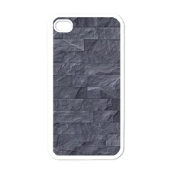 Excellent Seamless Slate Stone Floor Texture Apple Iphone 4 Case (white)