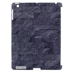Excellent Seamless Slate Stone Floor Texture Apple Ipad 3/4 Hardshell Case (compatible With Smart Cover)