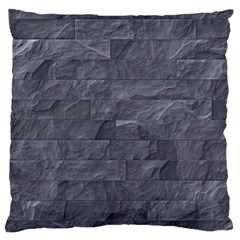 Excellent Seamless Slate Stone Floor Texture Large Cushion Case (two Sides)