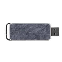 Excellent Seamless Slate Stone Floor Texture Portable Usb Flash (one Side)