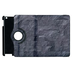 Excellent Seamless Slate Stone Floor Texture Apple Ipad 2 Flip 360 Case