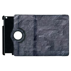 Excellent Seamless Slate Stone Floor Texture Apple Ipad 3/4 Flip 360 Case