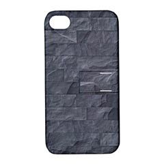 Excellent Seamless Slate Stone Floor Texture Apple Iphone 4/4s Hardshell Case With Stand