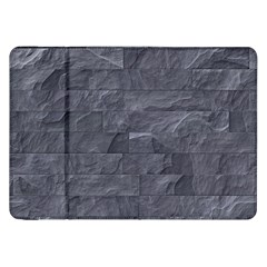 Excellent Seamless Slate Stone Floor Texture Samsung Galaxy Tab 8 9  P7300 Flip Case
