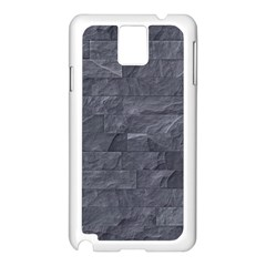 Excellent Seamless Slate Stone Floor Texture Samsung Galaxy Note 3 N9005 Case (white)