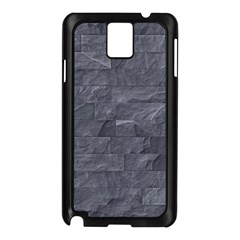 Excellent Seamless Slate Stone Floor Texture Samsung Galaxy Note 3 N9005 Case (Black)