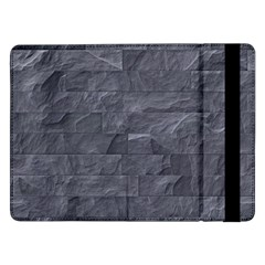 Excellent Seamless Slate Stone Floor Texture Samsung Galaxy Tab Pro 12 2  Flip Case