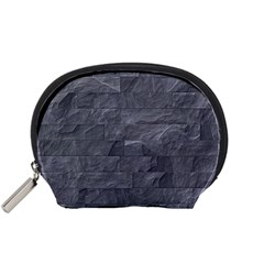 Excellent Seamless Slate Stone Floor Texture Accessory Pouches (Small)
