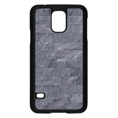 Excellent Seamless Slate Stone Floor Texture Samsung Galaxy S5 Case (black)