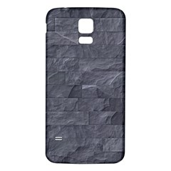 Excellent Seamless Slate Stone Floor Texture Samsung Galaxy S5 Back Case (white)