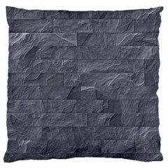 Excellent Seamless Slate Stone Floor Texture Large Flano Cushion Case (two Sides)