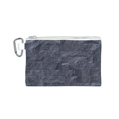 Excellent Seamless Slate Stone Floor Texture Canvas Cosmetic Bag (s)