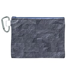 Excellent Seamless Slate Stone Floor Texture Canvas Cosmetic Bag (XL)