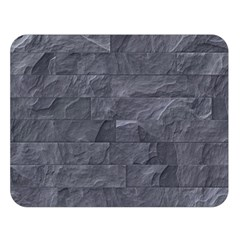 Excellent Seamless Slate Stone Floor Texture Double Sided Flano Blanket (large)