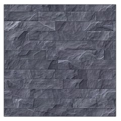 Excellent Seamless Slate Stone Floor Texture Large Satin Scarf (square)