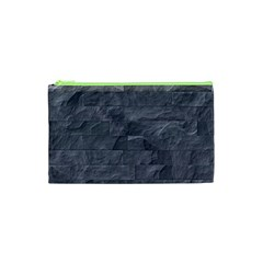 Excellent Seamless Slate Stone Floor Texture Cosmetic Bag (xs)