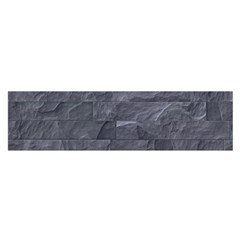 Excellent Seamless Slate Stone Floor Texture Satin Scarf (oblong)