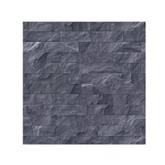 Excellent Seamless Slate Stone Floor Texture Small Satin Scarf (Square)