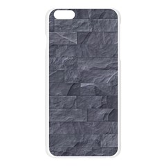 Excellent Seamless Slate Stone Floor Texture Apple Seamless iPhone 6 Plus/6S Plus Case (Transparent)
